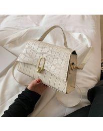 Елегантна дамска чанта в шампанско - код B529