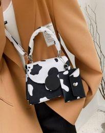 Дамска чанта с атрактивен десен - код B446 - 1