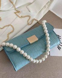 Дамска чанта в цвят тюркоаз - код B472