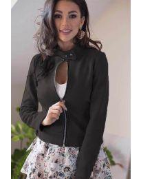 Дамско яке в черно - код 887
