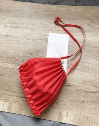 Ефектна дамска чанта в червено - код B521