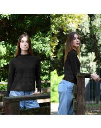 Дамска блуза в черно - код 912