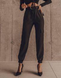 Елегантен панталон в черно - код 2985