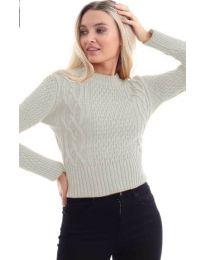 Дамска блуза в бежово - код 145