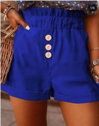 Къси панталонки в  тъмно синьо - код 9383