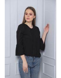 Дамска блуза в черно - код 0629