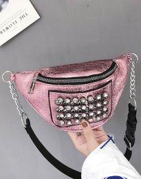Дамска чанта в розово - код B298