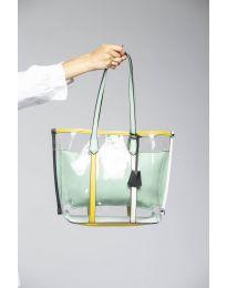 Дамска чанта в зелено - код LS542
