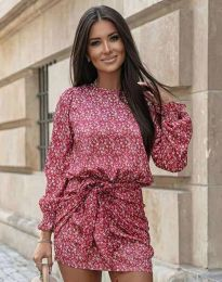 Ефектна дамска рокля - код 0361 - 2