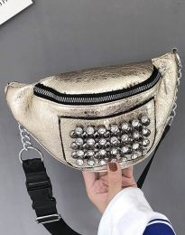 Дамска чанта в златисто - код B298