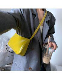 Дамска чанта в  жълто - код B21
