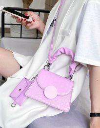 Дамска чанта в лилаво - код B427