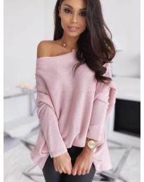 Дамска блуза в розово - код 0065