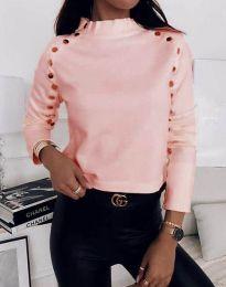 Дамска блуза в розово - код 2899