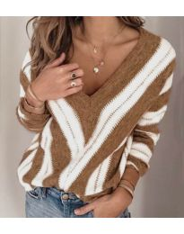 Дамска блуза в кафяво - код 786