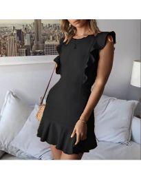 Елегантна рокля в черен цвят - код 548