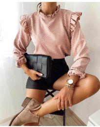 Дамска блуза в розово - код 5455