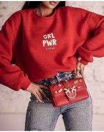 Дамска блуза в червено - код 0399