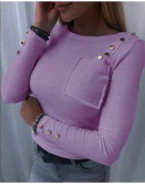 Дамска блуза в лилаво - код 1597