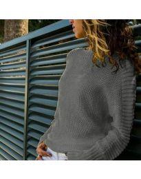 Дамска блуза в сиво - код 825