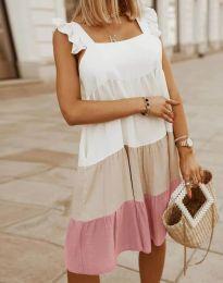 Свободна дамска рокля - код 2810 - 3