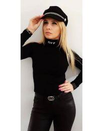 Дамска блуза в черно - код 4900