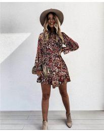Дамска рокля с атрактивни мотиви - код 248 - 4