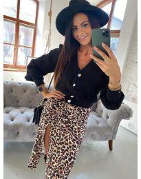 Дамска блуза в черно - код 241