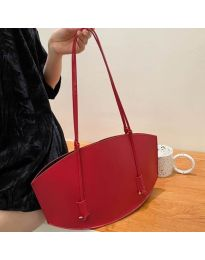 Атрактивна дамска чанта в червено - код B508