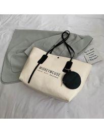Дамска чанта в бежово - код B33/9808-1