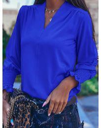 Дамска блуза в синьо - код 4549