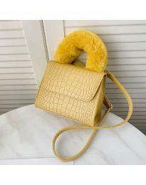 Дамска чанта в цвят горчица - код B57