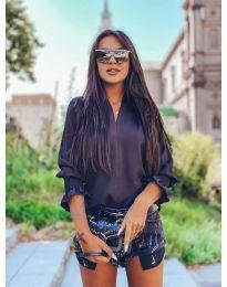 Дамска блуза в  черно - код 4549