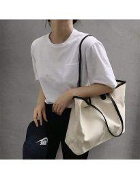 Ежедневна дамска чанта с черна дръжка - код B489