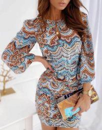 Стилна дамска рокля - код 3453