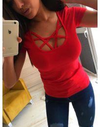 Тениска - код 363 - червено