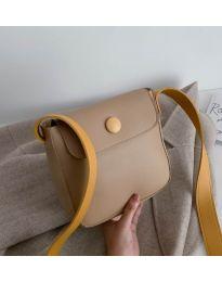 Дамска чанта в цвят капучино - код B76