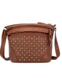 Дамска чанта в кафяво - код B134