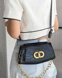 Дамска чанта в черно - код B396