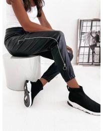 Дамски панталон в черно - код 5040