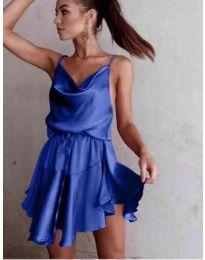 Феерична рокля в синьо - код 660