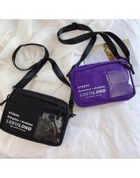 Дамска чанта в лилаво - код B28-822