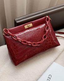 Дамска чанта в червено - код B335
