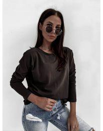 Дамска блуза в черно - код 5582