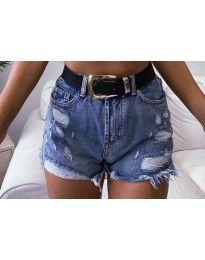 Къси дънкови панталонки - код 033