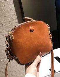 Дамска чанта в светлокафяво - код B290