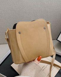 Дамска чанта в бежово - код B454