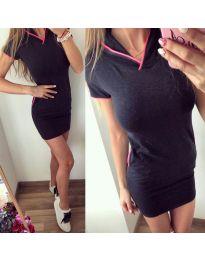 Спортна рокля в черно - код 533