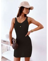 Дамска рокля в черно - 10088