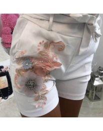 Къси панталонки бяло - код 329